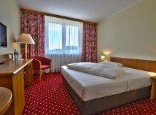 Doppelbettzimmer im Hotel Rosenstadt Forst