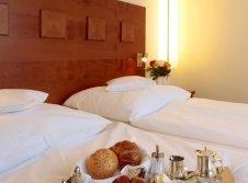 Doppelzimmer Bettfrühstück
