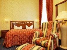 Doppelzimmer im Kutscherhaus Landseite