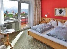 Doppelzimmer mit Alpenblick