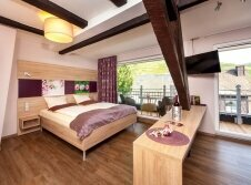 Doppelzimmer mit Moselblick & Balkon Hotel
