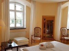 Doppelzimmer mit Sauna