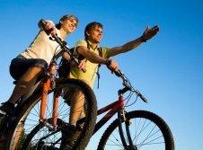 E-Bike Fahrradverleih im Haus