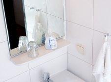 Einzelzimmer, Badezimmer