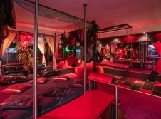 Erotisch ausgestattete Romatik-Lounge - Deine-Traumnacht Frankfurt