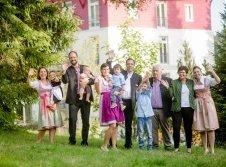 Familie Albiez und Familie Bock