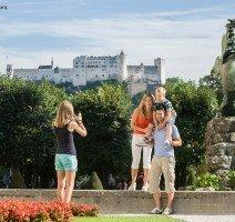 mit Blick auf die Festung Hohensalzburg, Quelle: (c) Tourismus Salzburg