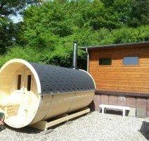 Fass-Sauna, Quelle: (c) AKZENT Vitalhotel König am Park