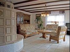Ferienappartement mit Kachelofen