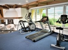 Fitness Center mit Matrix