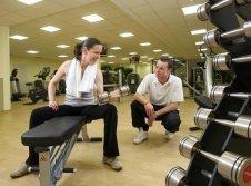 Fitnessstudio der Erlebniswelt