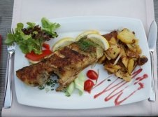 Frischer Fisch an der Ostsee