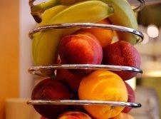 Frisches Obst am Frühstücksbuffet