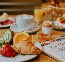 Frühstück im Hotel Drei Quellen Therme, Quelle: