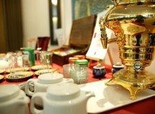 Frühstück im Hotel Orbtal