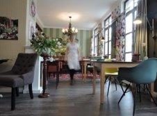 Frühstücks Restaurant im Hotel Burgkeller in Meißen