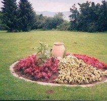 Garten mit Blick auf das Tal, Quelle: Hotel Sonnenhof.Köhne