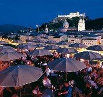 Sommerterrassen, Quelle: (c) Tourismus Salzburg
