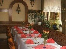 Geburtstagstafel im Hubertuszimmer