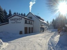 Genussgasthof im Winter