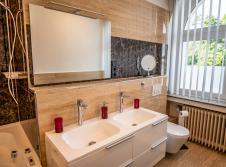Goldene Suite Badezimmer