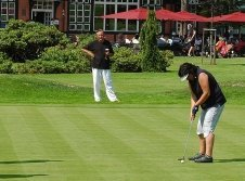 Golfplatz des Golf Hotel Morris