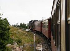 Harzer Schmalspurbahn mit Dampflok zum Brocken