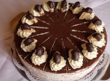 Hausgemachten Kuchen und Torten