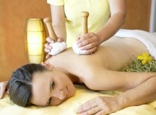 Heustempel-Massage
