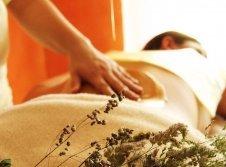 Honig-Guss-Massage