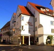 Der Eingang unseres schönen Hotel & Restaurants in der Schulgasse, Quelle: (c) Hotel & Restaurant Gasthof zum Ochsen