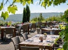 Hotel Becksteiner Rebenhof - Terrasse/Außenbereich