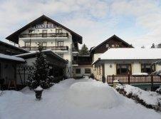 Hotel Jägerklause im Winter