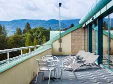Hotel Nový Dům  - Terrasse/Außenbereich