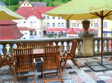Hotel Panorama - Terrasse/Außenbereich
