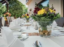 Hotel-Restaurant Bastenhaus - Terrasse/Außenbereich
