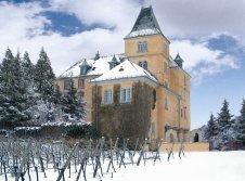 Hotel Schloss Edesheim im Winter