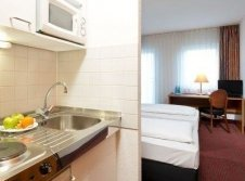 Hotelzimmer Kitchenette
