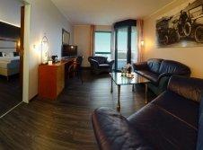 Hotelzimmer mit Wohnbereich