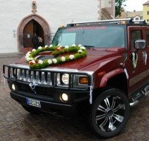 Hummer H2 als Hochzeitsauto, Quelle: