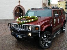 Hummer H2 als Hochzeitsauto