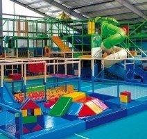"""Indoorspielplatz in der Erlebniswelt """"Splash"""", Quelle: (c) Precise Resort Rügen"""