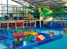 Indoorspielplatz in der Erlebniswelt