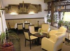 Kaminecke im Restaurant