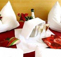 Komfort Doppelzimmer romantisch, Quelle: (c) AKZENT Hotel Restaurant Höhenblick