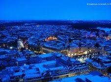 Leipzig im Winter