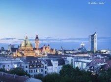 Leipzig Skyline Panorama