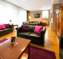 Lounge, Quelle: (c) ACHAT Plaza Zum Hirschen Salzburg