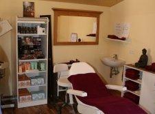 Massage und Kosmetikbereich
