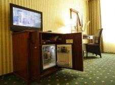 Minibar im Hotelzimmer